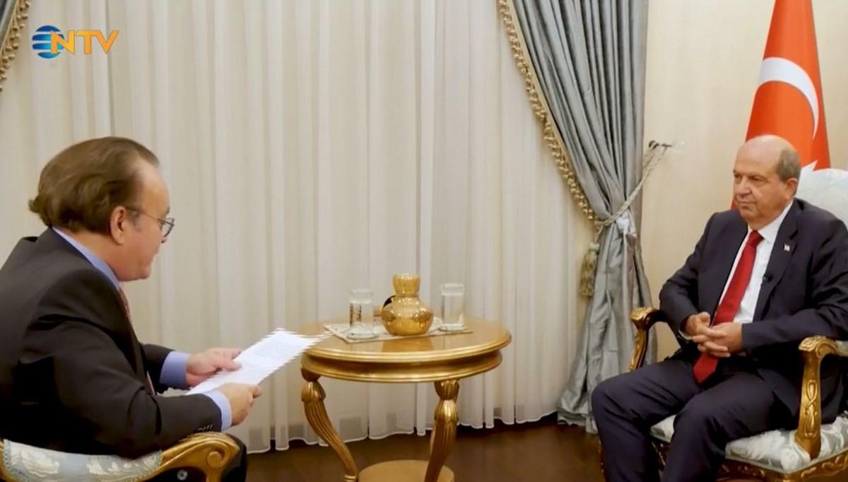 KKTC Cumhurbaşkanı NTV'ye konuştu