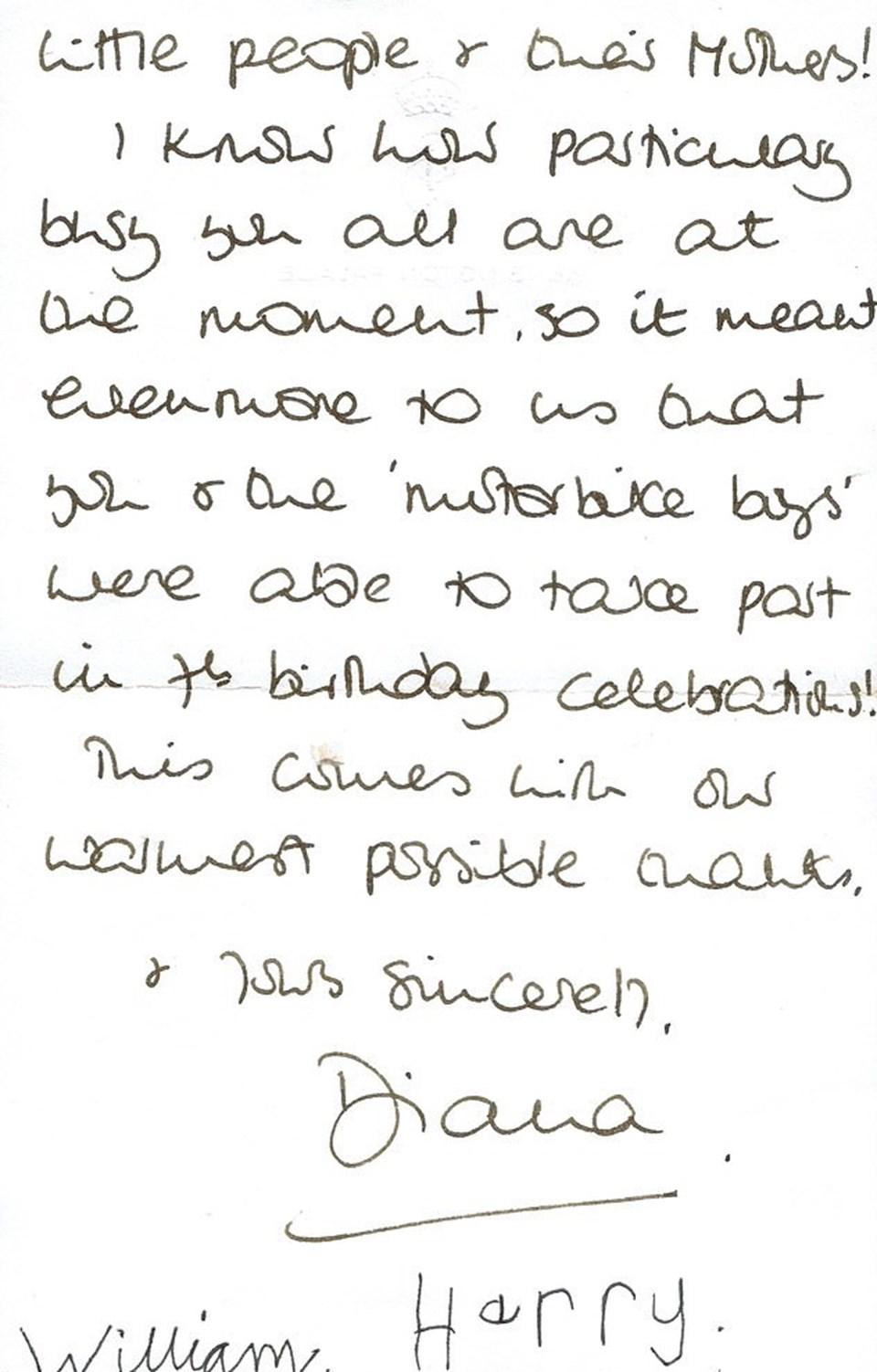 Mektup, üç yıl önce Çavuş Plumb'dan satın alan Londra merkezli özel bir koleksiyoncu tarafından 23 Nisan'da sona erecek bir açık artırmayla alıcısını bekliyor.