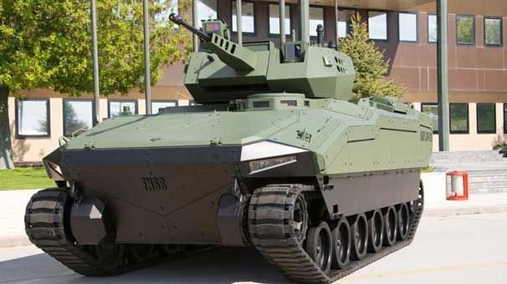 Dijital birliğin robot askeri Barkan göreve hazırlanıyor (Türkiye'nin yeni nesil yerli silahları) - 192