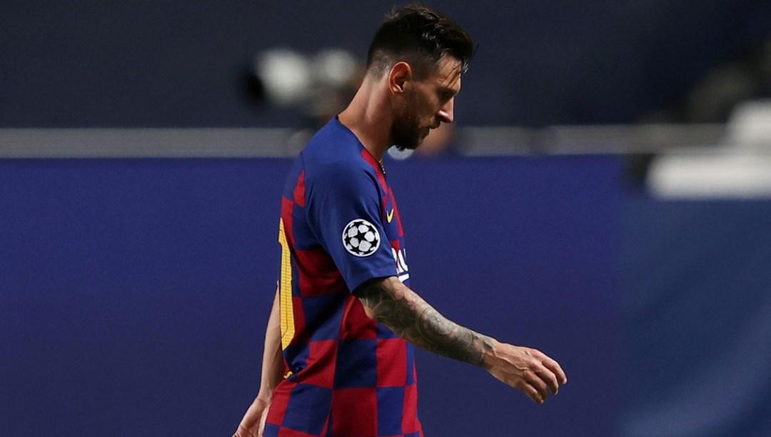 """Messi, ayrılma isteğini Barcelona'ya iletti"""