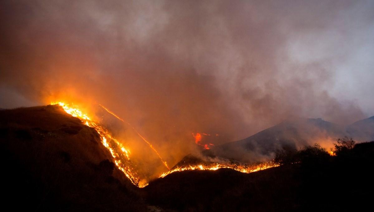 California yine yanıyor: 100 bin kişiye tahliye