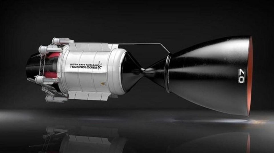 Seattle merkezli Ultra Safe Nuclear Technologies isimli şirket,üzerinde çalıştığı, Nükleer Termal Tahrik sistemli bir motorla Mars yolculuğunun süresinin 3 aya kadar indebileceği iddiasında.