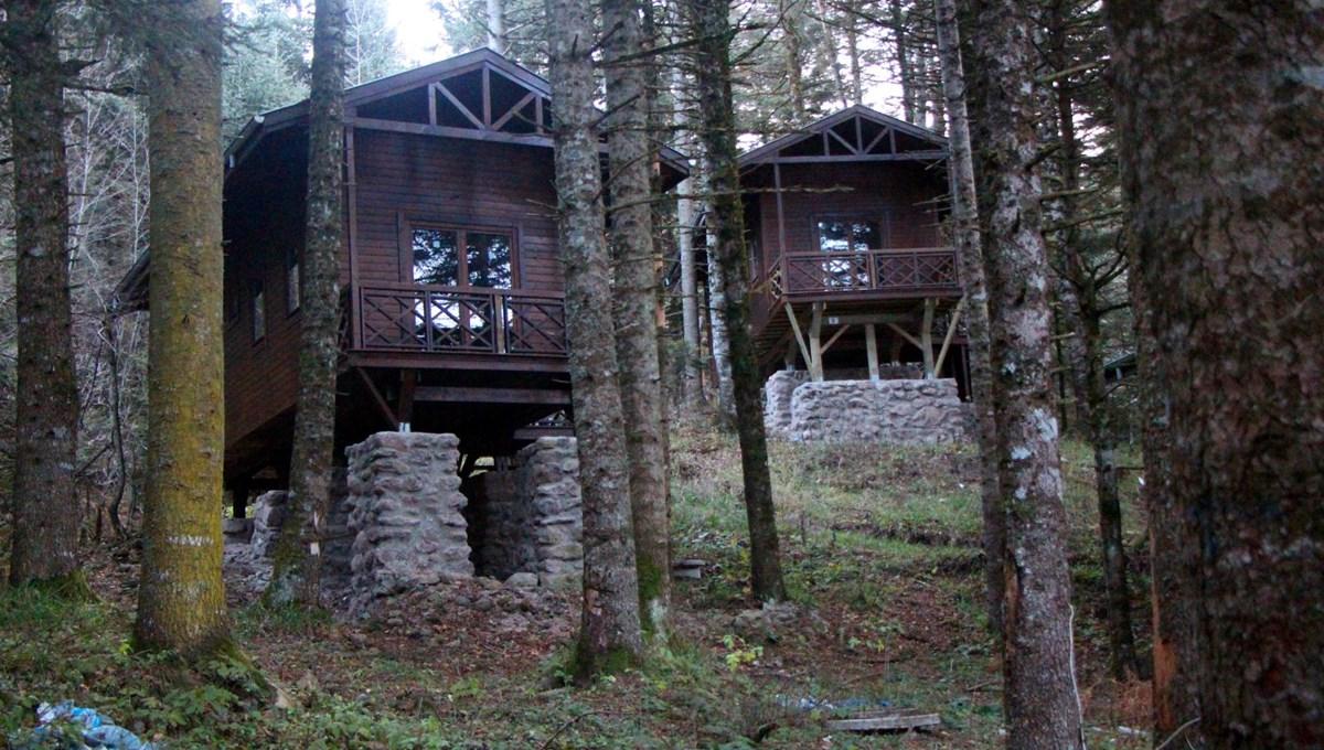Gölcük Tabiat Parkı'nda 7 milyon lira harcanan bungalovlar atıl kaldı