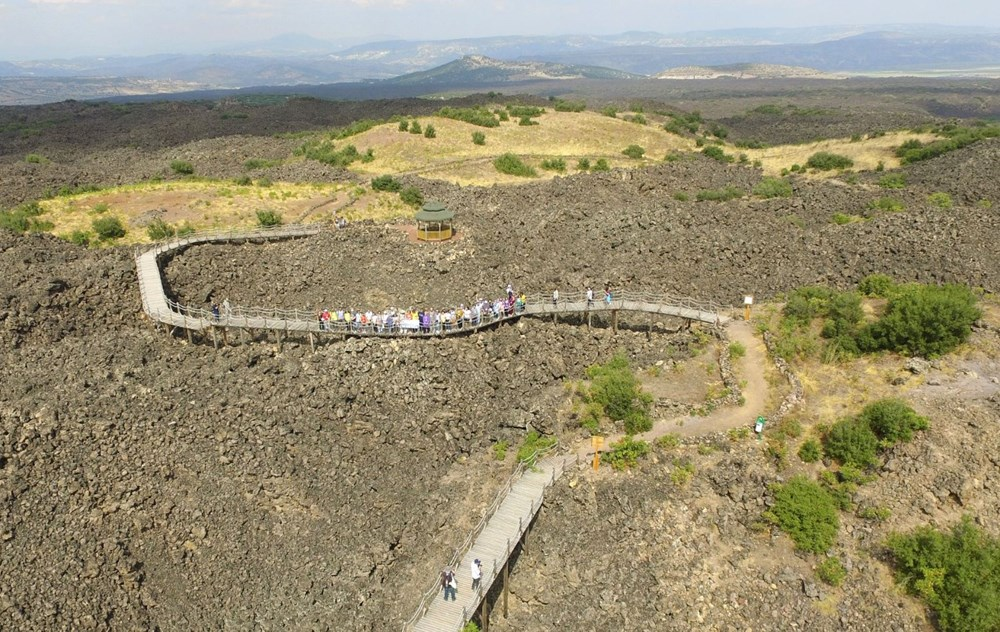 Türkiye'nin jeolojik yapısına ışık tutan Kula Jeoparkı (Manisa gezilecek yerler) - 7