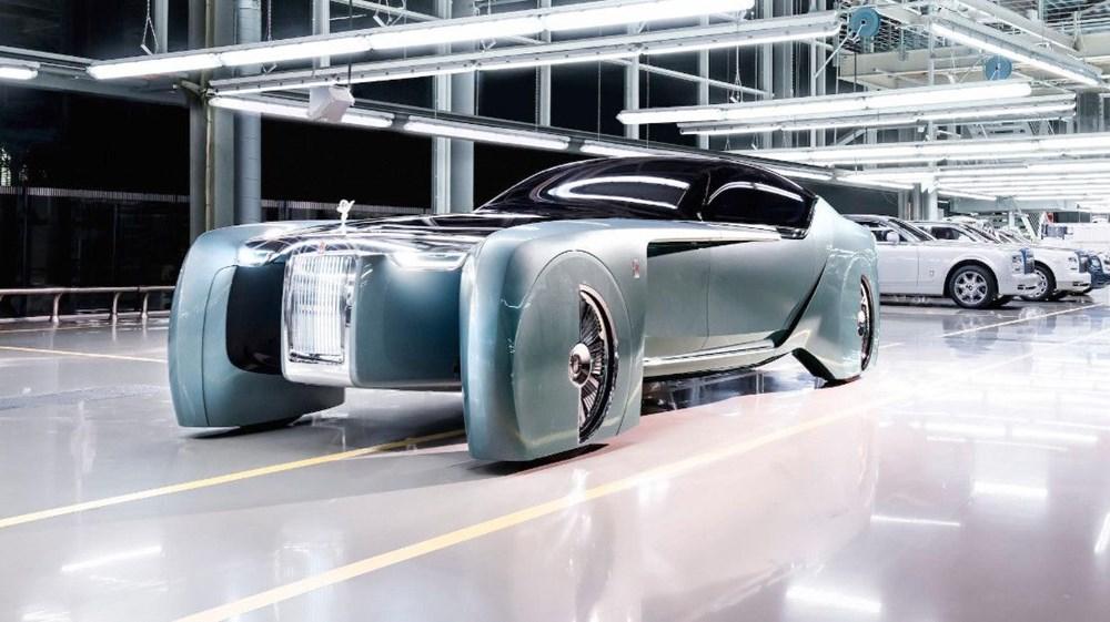 Rolls-Royce'un ilk elektrikli otomobili: İsmi açıklandı - 12