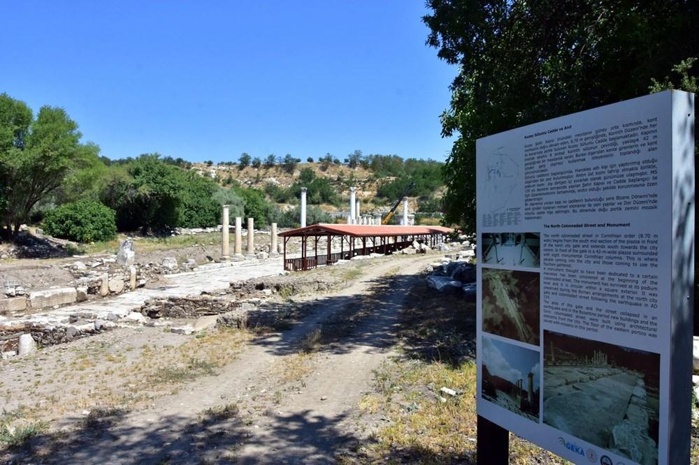 Yatağan'daki Antik kentte 1720 yıllık fiyat listesi - 6