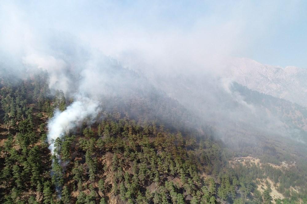 Antalya, Adana, Mersin, Aydın, Muğla, Osmaniye, Kayseri ve Manisa'da orman yangınları - 23