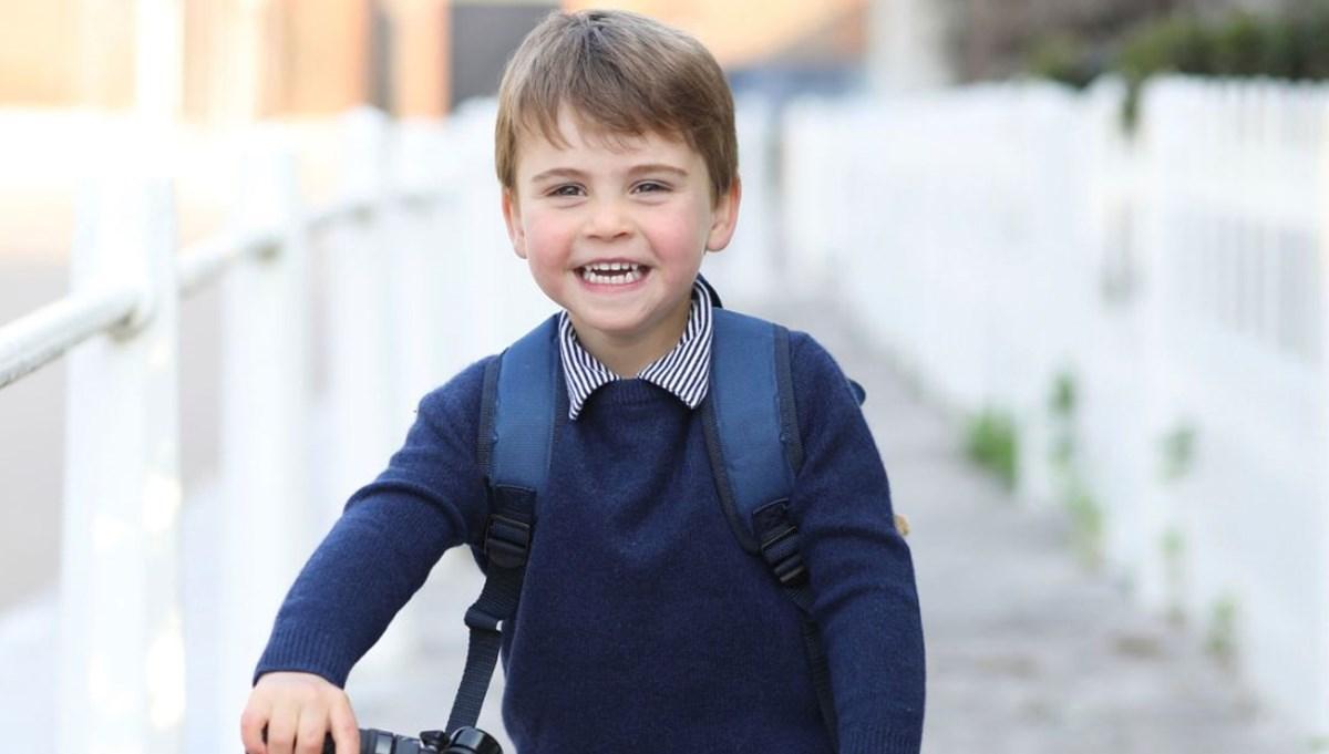 Prens Louis üç yaşında