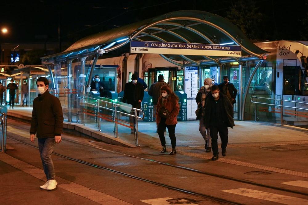 İstanbul'da sokağa çıkma kısıtlamasının ardından hayat normale döndü - 6