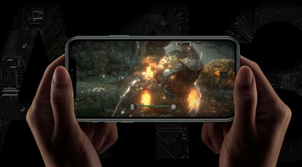 Piyasadaki en hızlı telefon çipseti olan A13 çipset oyun deneyimine de olumlu yansıyor.