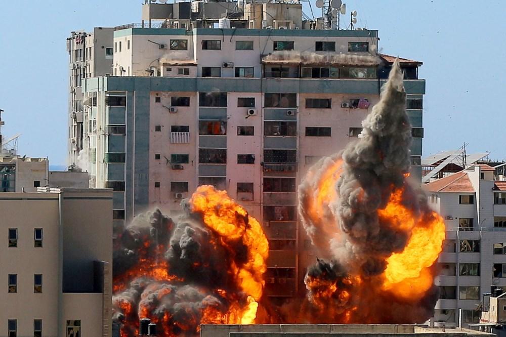 İsrail'in Gazze'ye saldırılarının bir haftalık bilançosu: 200 ölü, bin 307 yaralı - 7