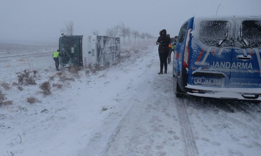 Konya'da 2 tur otobüsü devrildi: 1 Rus turist öldü, çok sayıda yaralı - 2