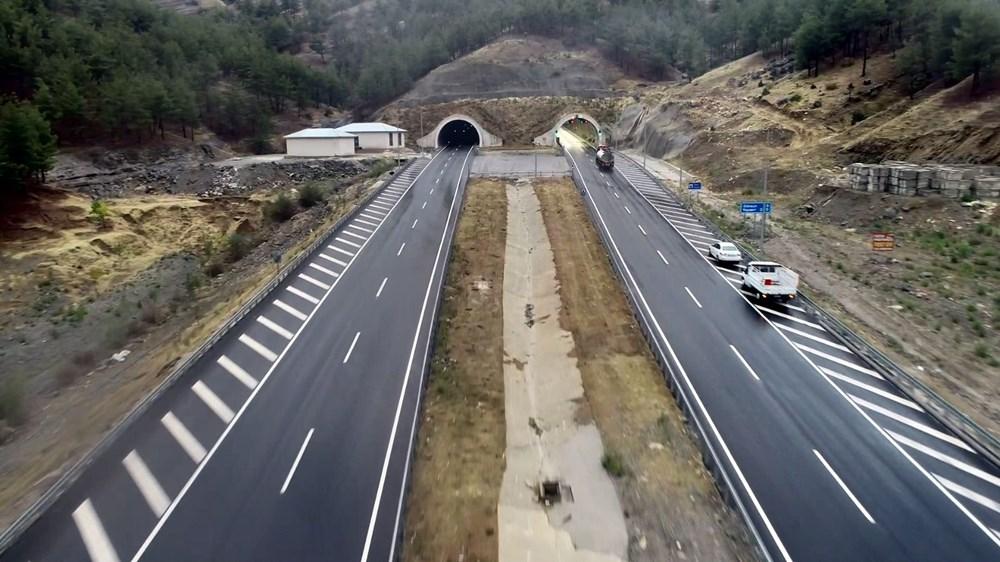 11 tünelli Kahramanmaraş-Göksun yolu açıldı: Süre 39 dakika kısalacak - 3