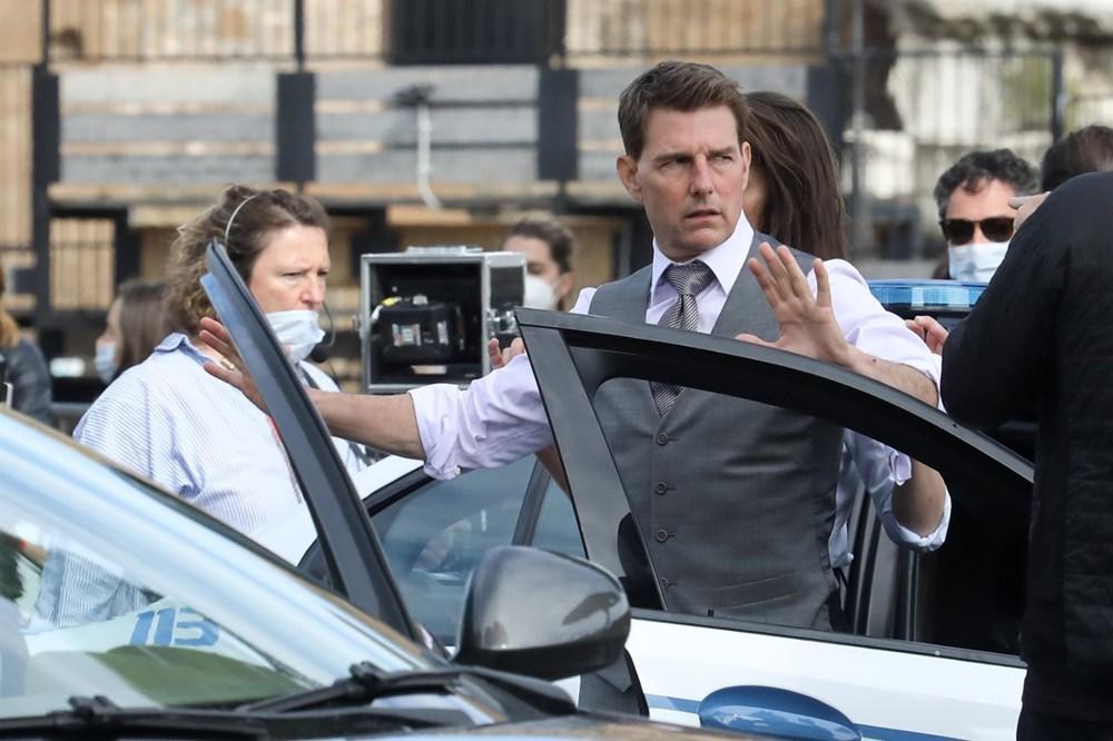 Tom Cruise'lu Görevimiz Tehlike 7 setinden yeni kareler - 3