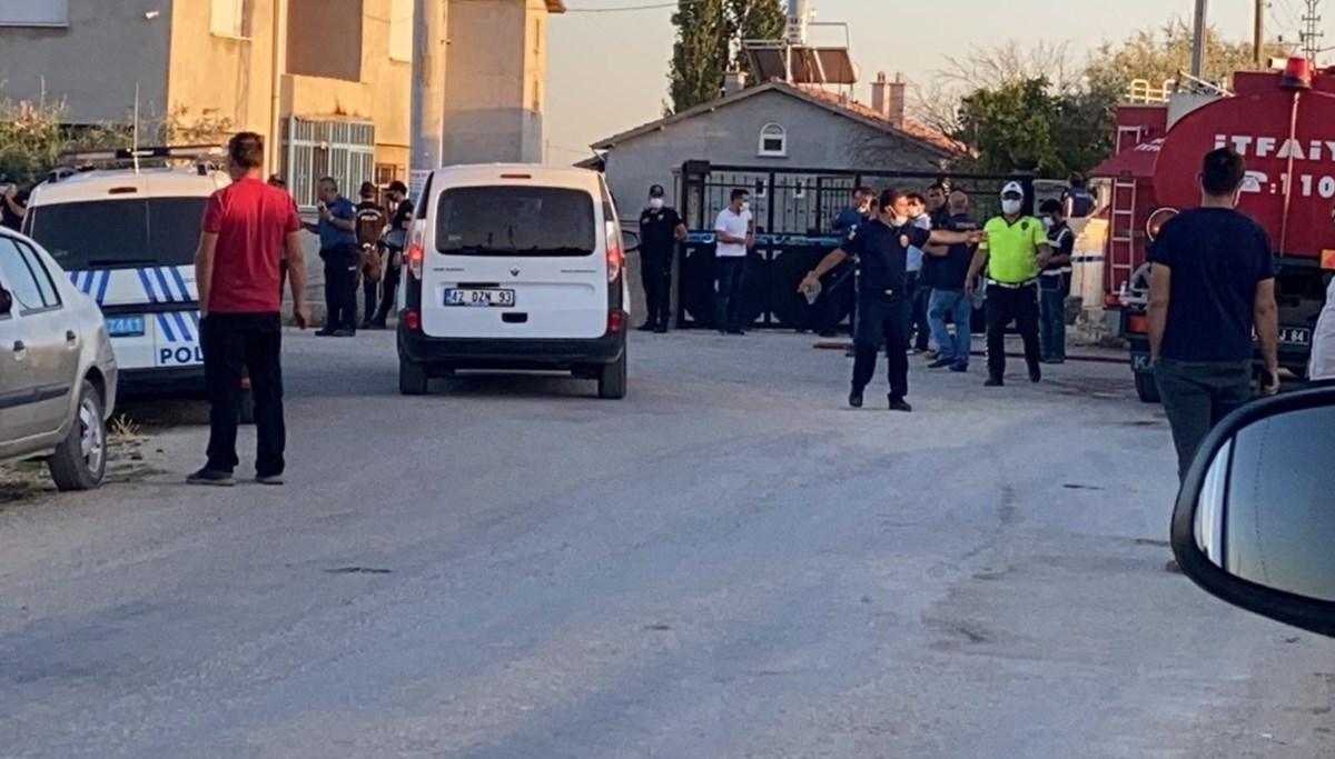 Konya'da bir eve saldırı: 7 kişi hayatını kaybetti