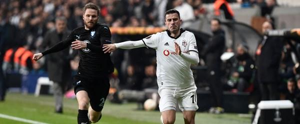 Beşiktaş, Avrupa'ya veda etti