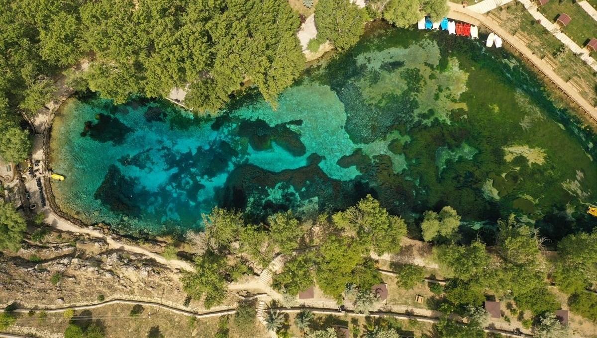 'Anadolu'nun nazar boncuğu' Gökpınar Gölü yenilenen yüzüyle ziyaretçilerini ağırlamaya hazır