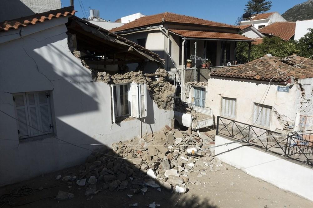 Depremin vurduğu Yunan adası Sisam'da son durum - 28