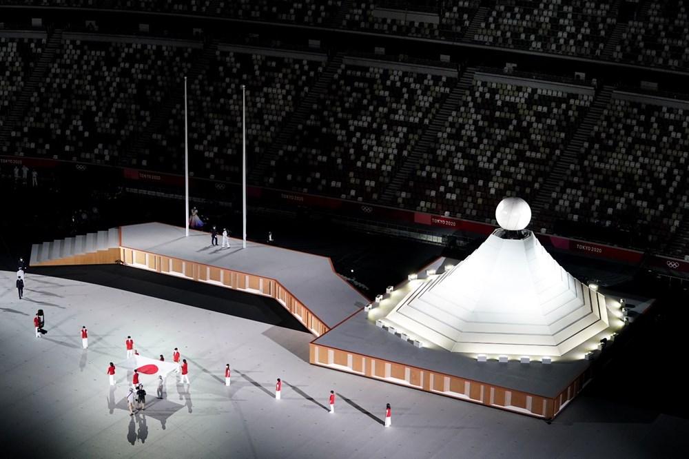2020 Tokyo Olimpiyatları görkemli açılış töreniyle başladı - 8