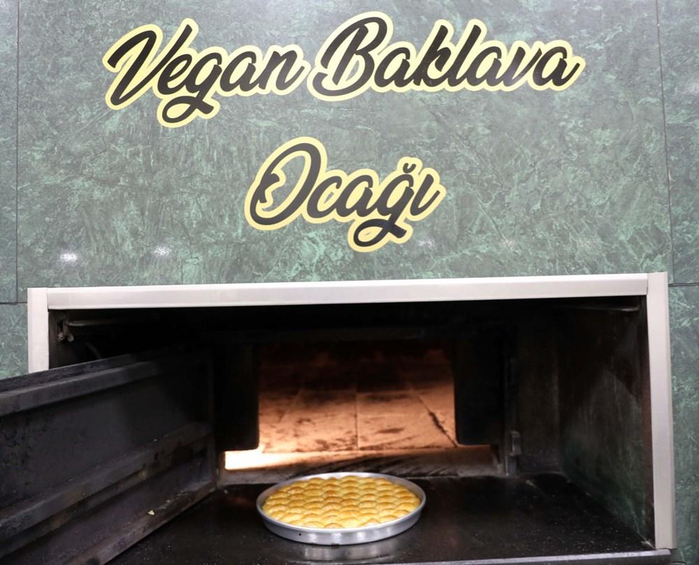 Gaziantep'te vegan baklava üretildi - 3