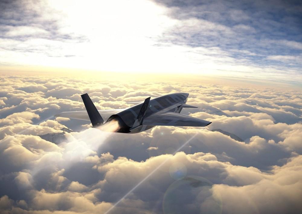 Baykar'dan insansız savaş uçağına ilişkin görsel paylaşımı - 2