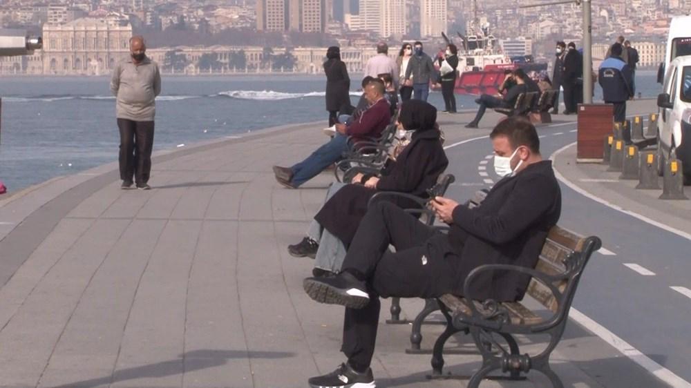 Kısıtlama yokmuş gibi! İstanbul'da sahiller doldu taştı - 7