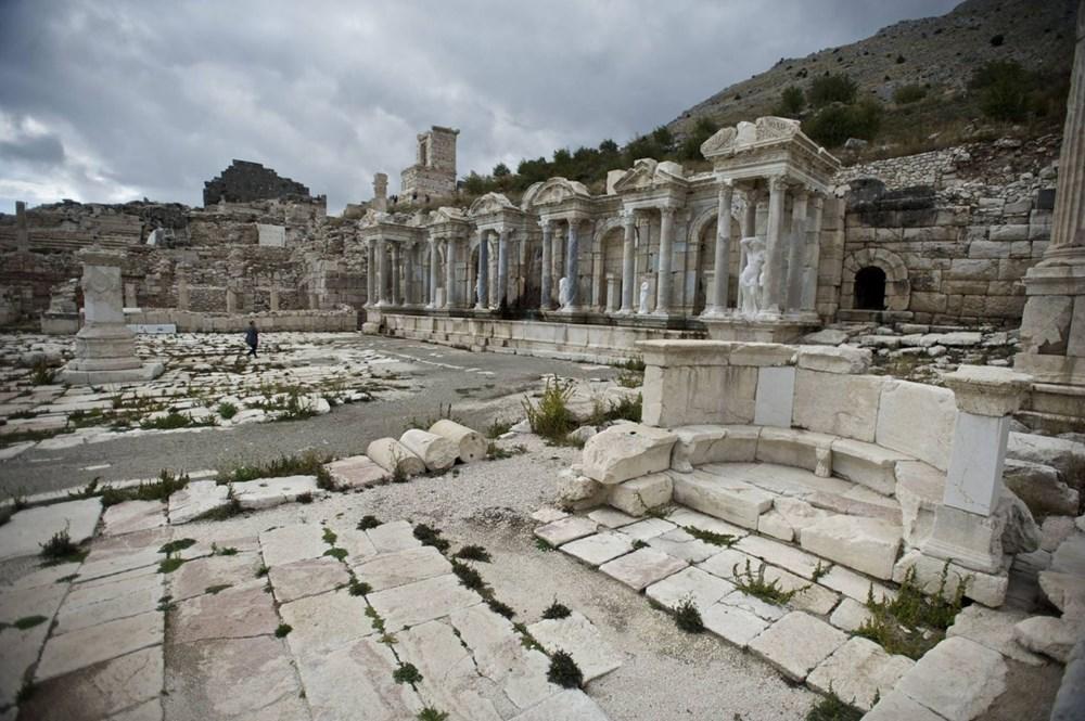 Burdur'unantik güzelliği: Sagalassos Antik Kenti - 5