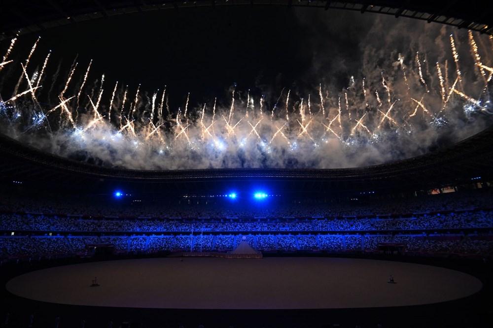 2020 Tokyo Olimpiyatları görkemli açılış töreniyle başladı - 67