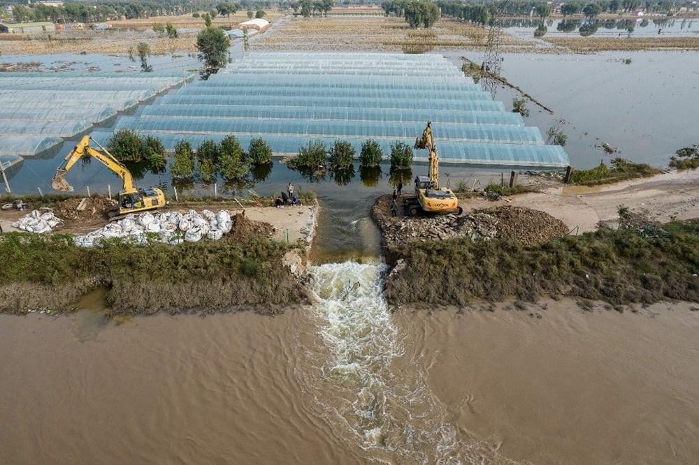 Çin'de sel felaketi: 15 can kaybı - 3