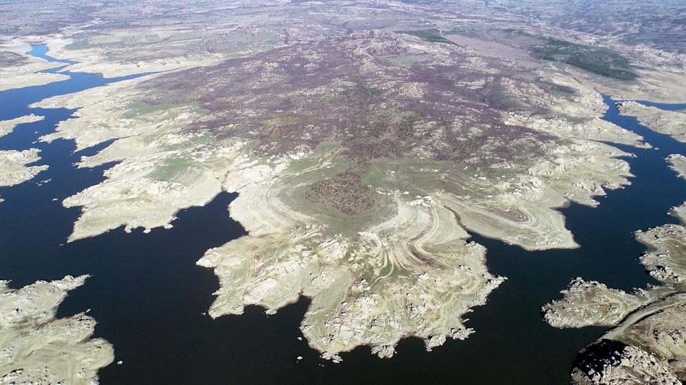 Edirne'nin içme suyunu sağlayan baraj kurudu: 36 saatlik kesinti - 6