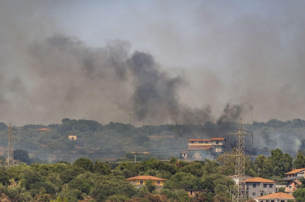 Akdeniz alev aldı: Yunanistan ve İtalya'da orman yangınları sürüyor - 13