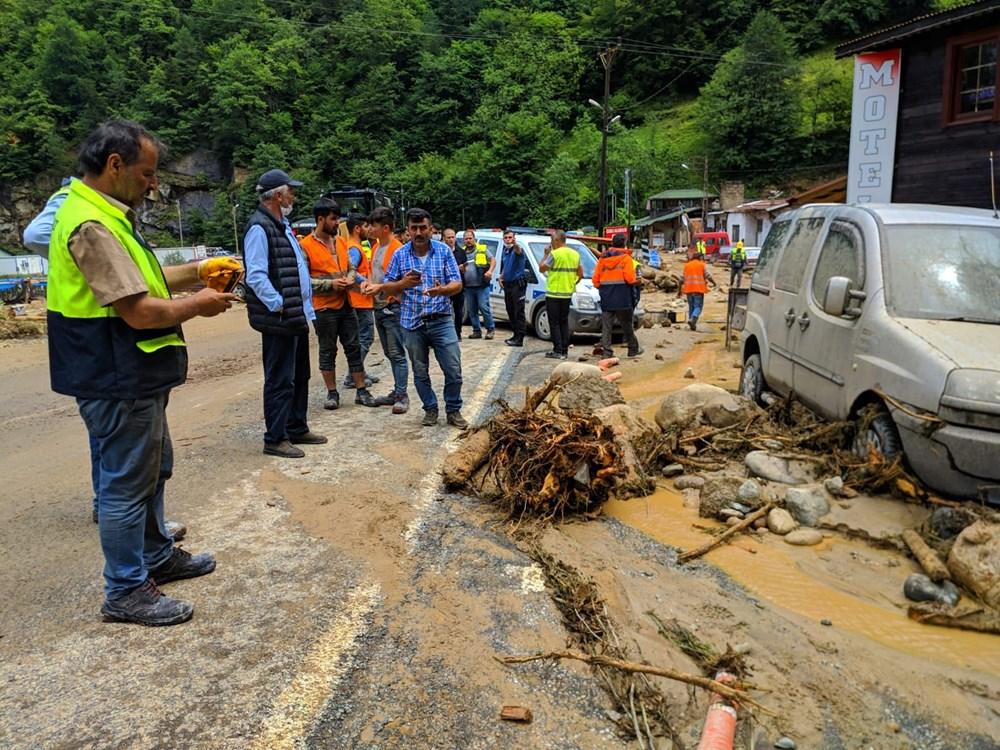 Şiddetli yağış Rize'yi de vurdu: 2 can kaybı - 26