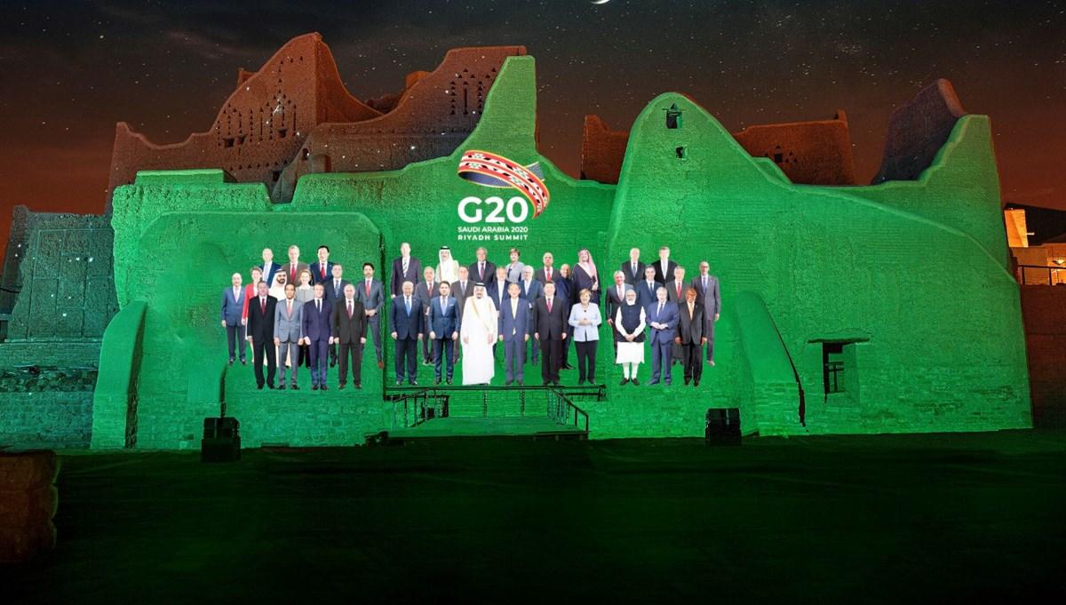 G-20 zirvesi başladı: Liderlerden Coronavirüs mesajı