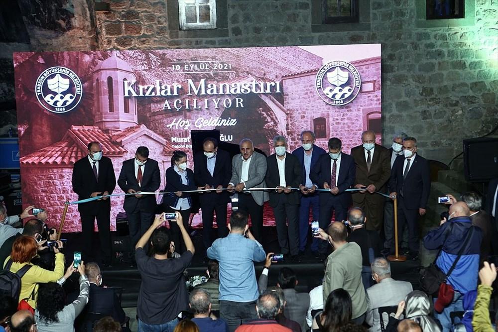 Trabzon'da restorasyonu tamamlanan Kızlar Manastırı ziyarete açıldı - 5