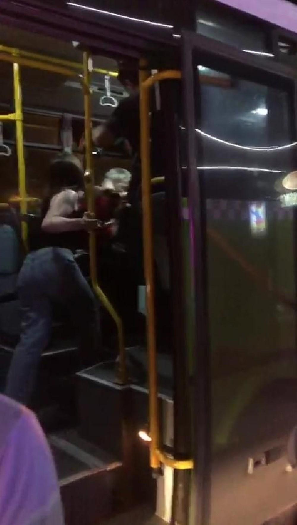 Belediye otobüsünde'taciz' dayağı - 3