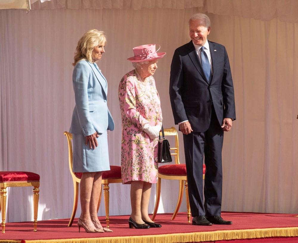 ABD Başkanı Biden, İngiltere Kraliçesi Elizabeth ile buluştu - 4