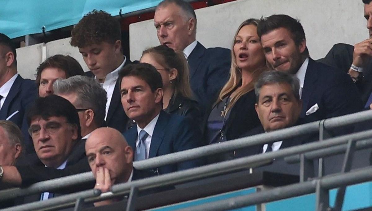 Tom Cruise, David Beckham, Prens William ve Kate Middleton tribünde