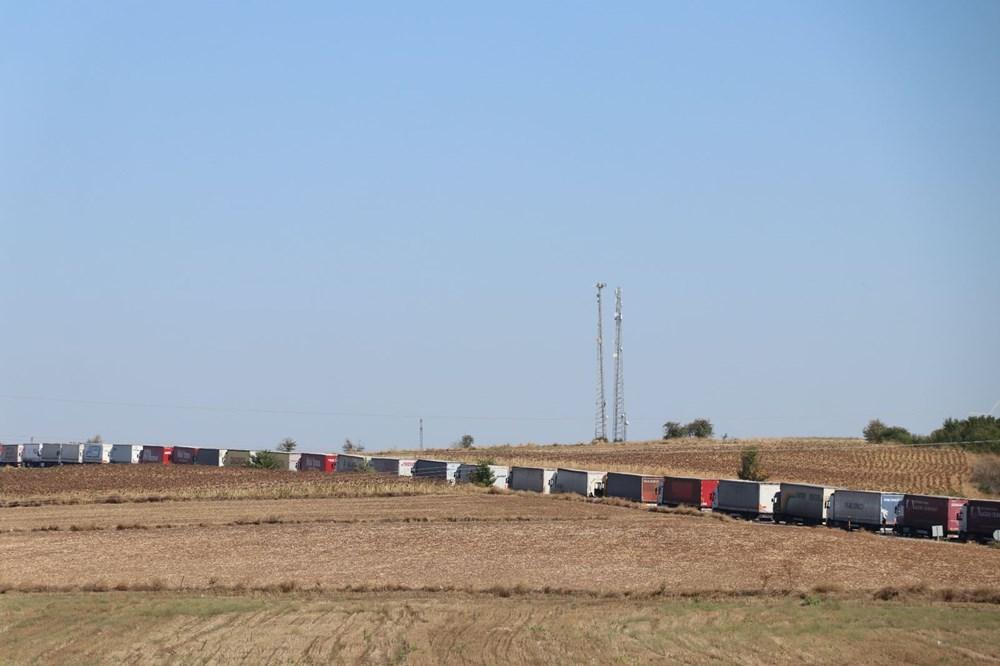 Sınırda 20 kilometrelik TIR kuyruğu - 10