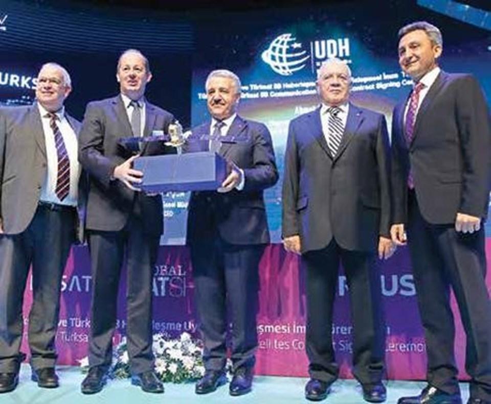 Sağdan sola: Colin Paynter, Nicolas Chamussy, Ahmet Arslan, Vecdi Gönül, Cenk Şen