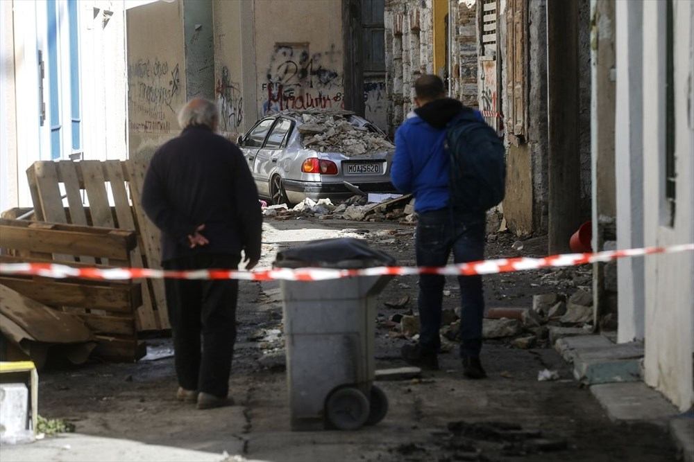 Depremin vurduğu Yunan adası Sisam'da son durum - 39