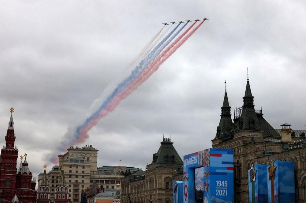 Rusya'da Zafer Günü kutlamaları: Moskova'da askeri geçit töreni - 7