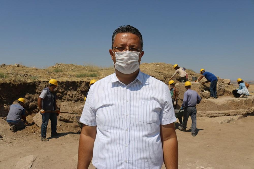 Zerzevan Kalesi'nin 1800 yıllık girişi bulundu - 4