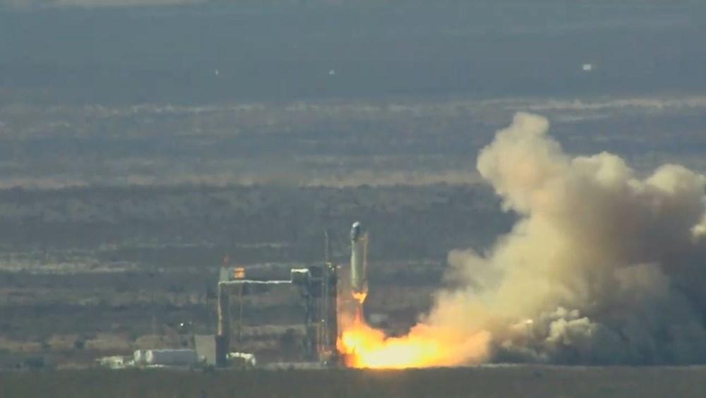 Uzay yarışı kızışıyor: İnsansız test uçuşu başarıyla tamamlandı - 4