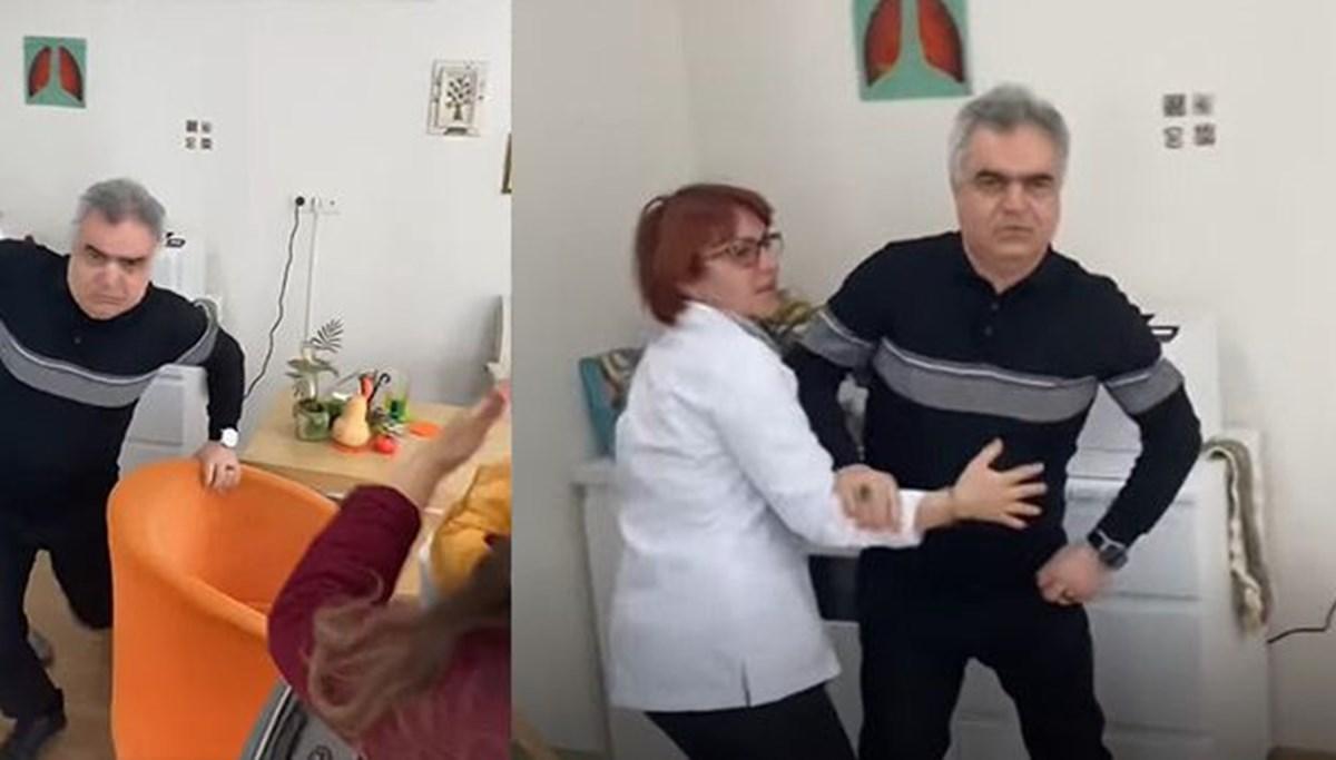Bu kez doktor hasta yakınlarına saldırdı