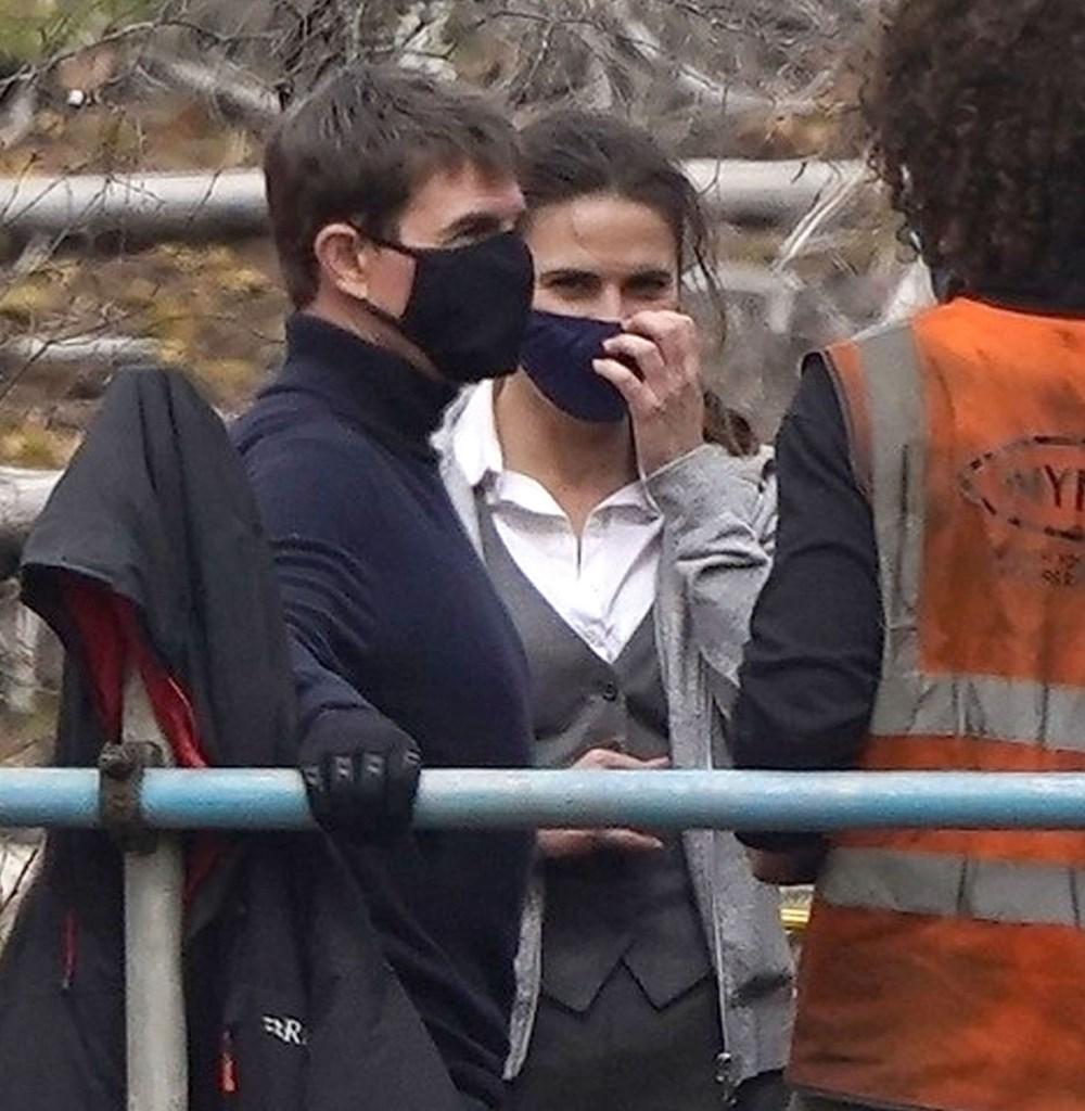 Görevimiz Tehlike 7 (Mission: Impossible 7) filminde tren sahnesi böyle çekildi - 14