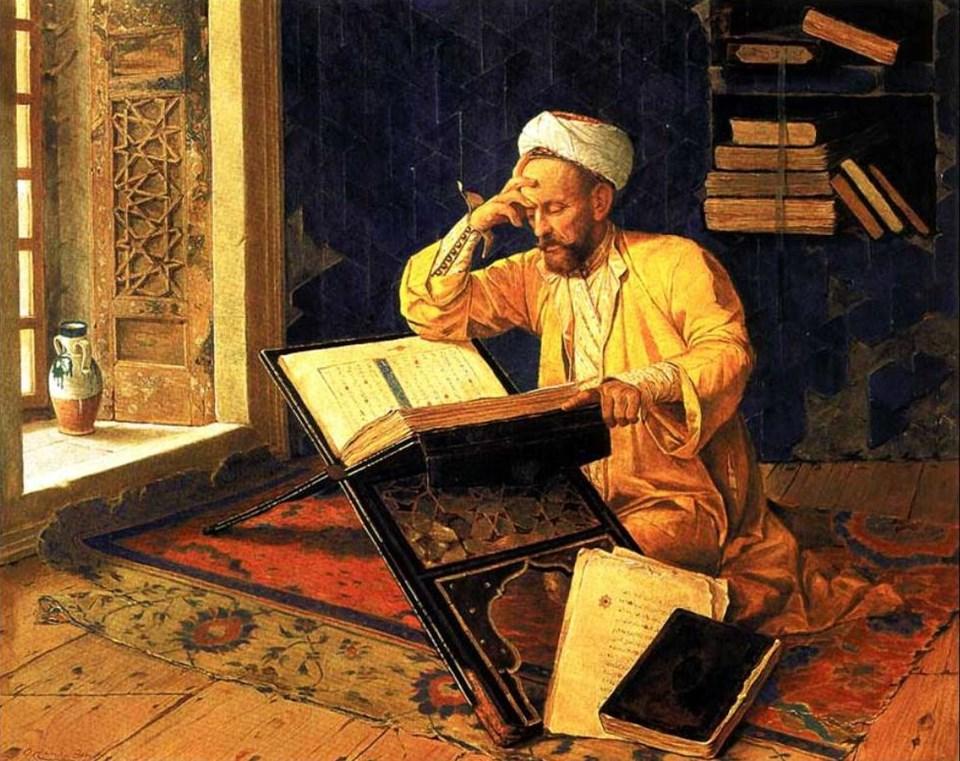 'Kur'an Okuyan Adam'