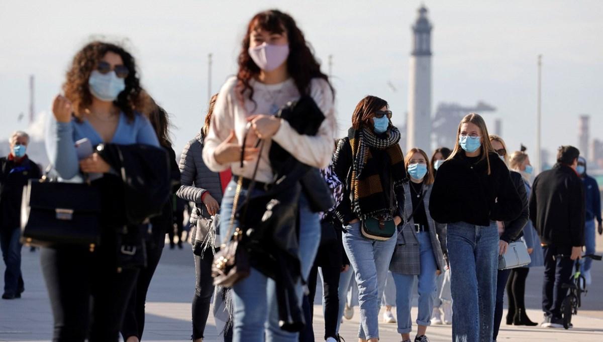 Fransa'da son 4 ayın en yüksek vaka sayısı kaydedildi