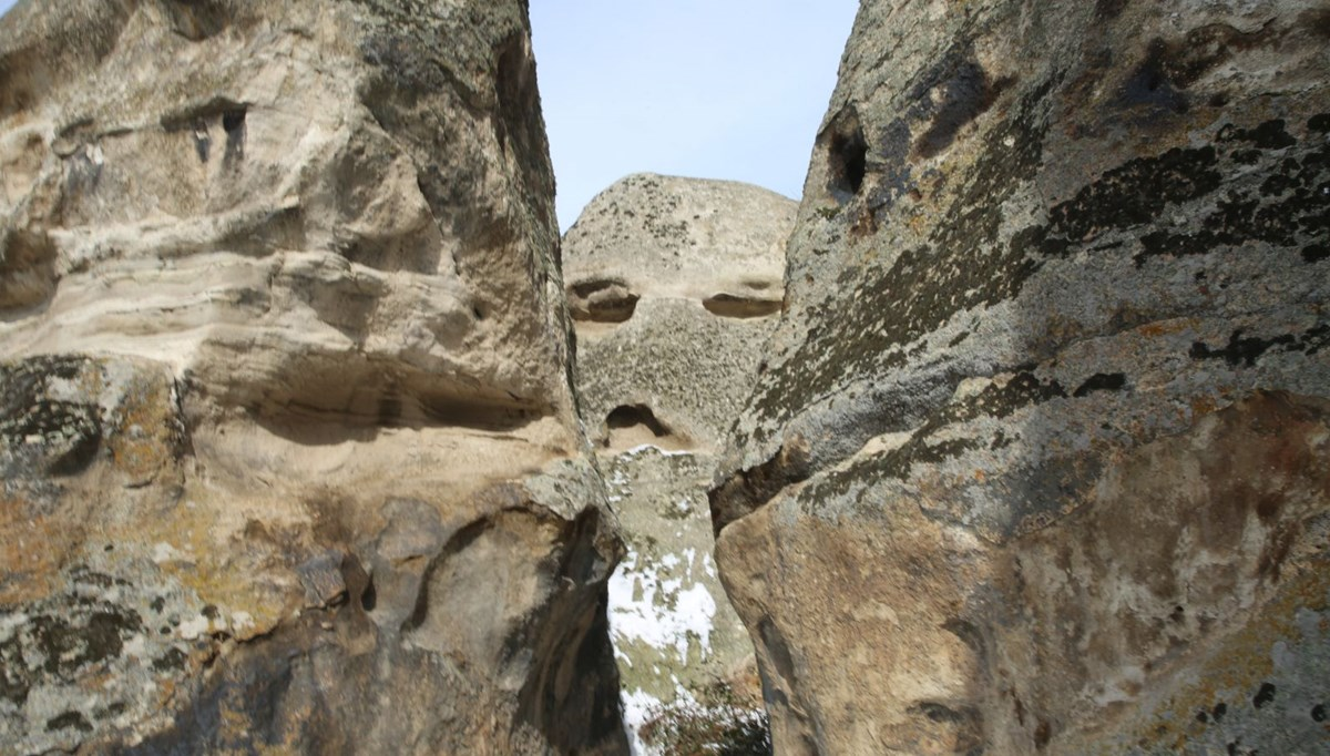This is the 'sulky' rock!  The rock in the 3,000-year-old Phrygian Valley amazes those who see it