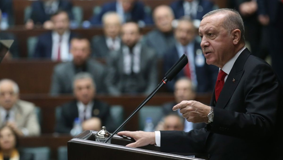 Cumhurbaşkanı Erdoğan'dan yeni anayasa mesajı