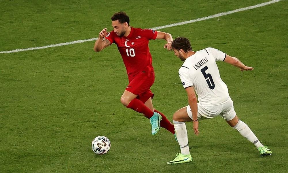 Milli Takım açılış maçında İtalya'ya yenildi (EURO 2020 - Türkiye:0 İtalya:3) - 15